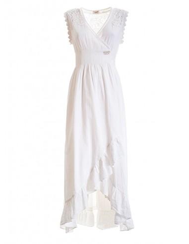 Long Dress Cream