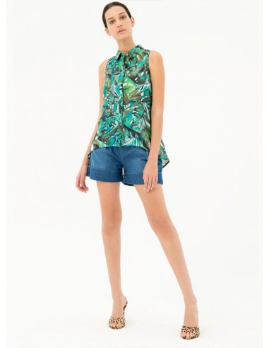 Flare Top Green